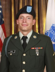 In this undated photo provided by the U.S. Army in Little Rock, Ark., Tuesday, June 2, 2009, Pvt. William Long, 23, of Conway, Ark., is shown Friday, May 15, 2009. Long was killed outside an Army-Navy Career Center in a west Little Rock shopping center on Monday, June 1. (AP Photo/U.S. Army)